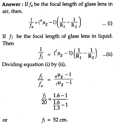 CBSE Previous Year Question Papers Class 12 Physics 2011 Outside Delhi 55