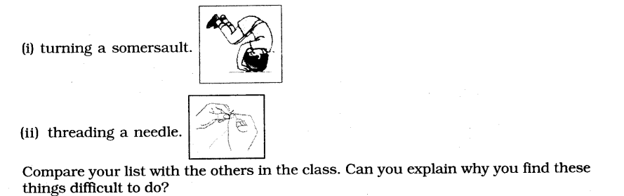 NCERT Solutions for Class 6 English Chapter 5 A Different Kind of School Speaking and Writing 1