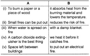 NCERT Solutions for Class 7th English Chapter 8 Fire Friend and Foe Working with Text Q5