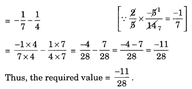 NCERT Solutions for Class 8 Maths Chapter 1 Rational Numbers Ex 1.1 Q1.3