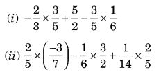 NCERT Solutions for Class 8 Maths Chapter 1 Rational Numbers Ex 1.1 Q1