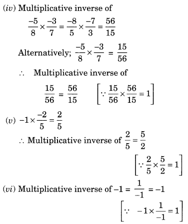 NCERT Solutions for Class 8 Maths Chapter 1 Rational Numbers Ex 1.1 Q4.2