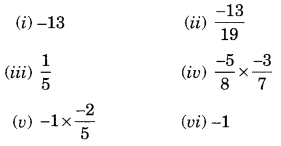 NCERT Solutions for Class 8 Maths Chapter 1 Rational Numbers Ex 1.1 Q4