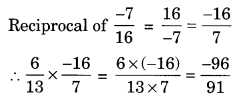 NCERT Solutions for Class 8 Maths Chapter 1 Rational Numbers Ex 1.1 Q6