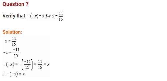 NCERT Solutions for Class 8 Maths Chapter 1 Rational Numbers Ex 1.1 q-3