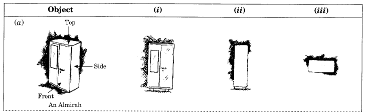 NCERT Solutions for Class 8 Maths Chapter 10 Visualising Solid Shapes Ex 10.1 Q2