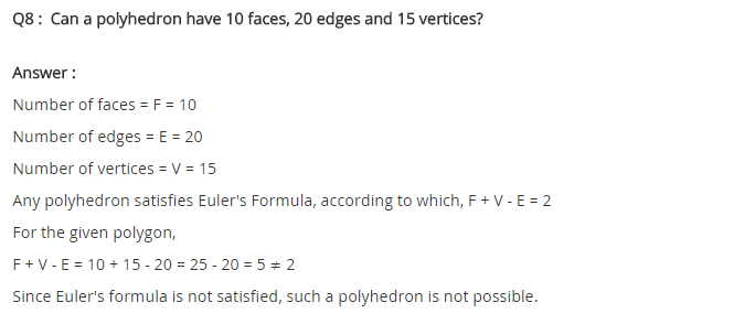 NCERT Solutions for Class 8 Maths Chapter 10 Visualising Solid Shapes Ex 10.3 q-5