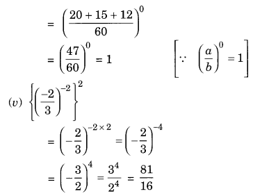 NCERT Solutions for Class 8 Maths Chapter 12 Exponents and Powers Ex 12.1 Q3.2