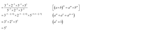 NCERT Solutions for Class 8 Maths Chapter 12 Exponents and Powers Ex 12.1 q-6
