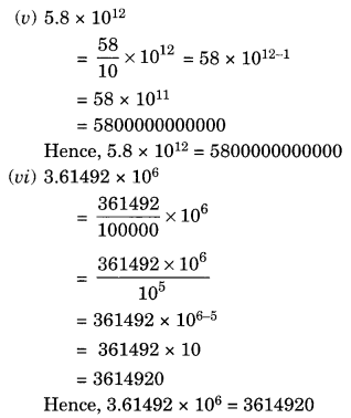 NCERT Solutions for Class 8 Maths Chapter 12 Exponents and Powers Ex 12.2 Q2.1