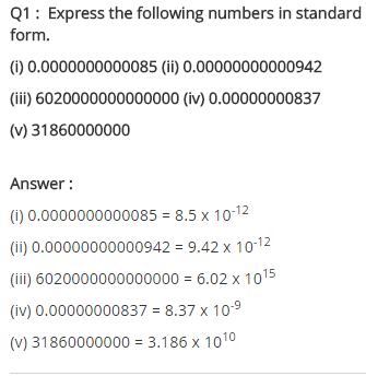 NCERT Solutions for Class 8 Maths Chapter 12 Exponents and Powers Ex 12.2 q-1