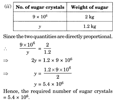 NCERT Solutions for Class 8 Maths Chapter 13 Direct and Inverse Proportions Ex 13.1 Q7.1