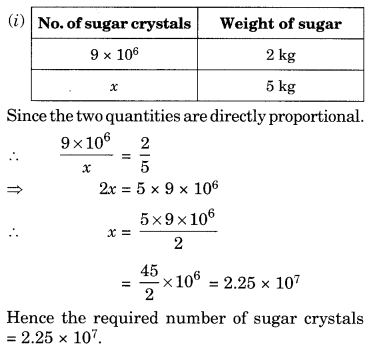 NCERT Solutions for Class 8 Maths Chapter 13 Direct and Inverse Proportions Ex 13.1 Q7