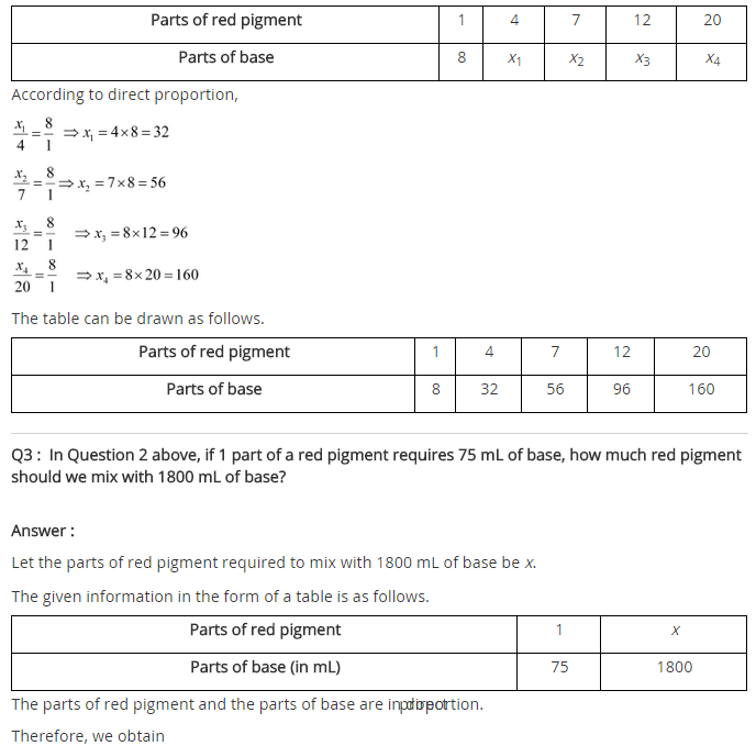 NCERT Solutions for Class 8 Maths Chapter 13 Direct and Inverse Proportions Ex 13.1 q-2