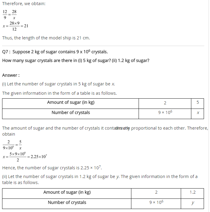 NCERT Solutions for Class 8 Maths Chapter 13 Direct and Inverse Proportions Ex 13.1 q-5