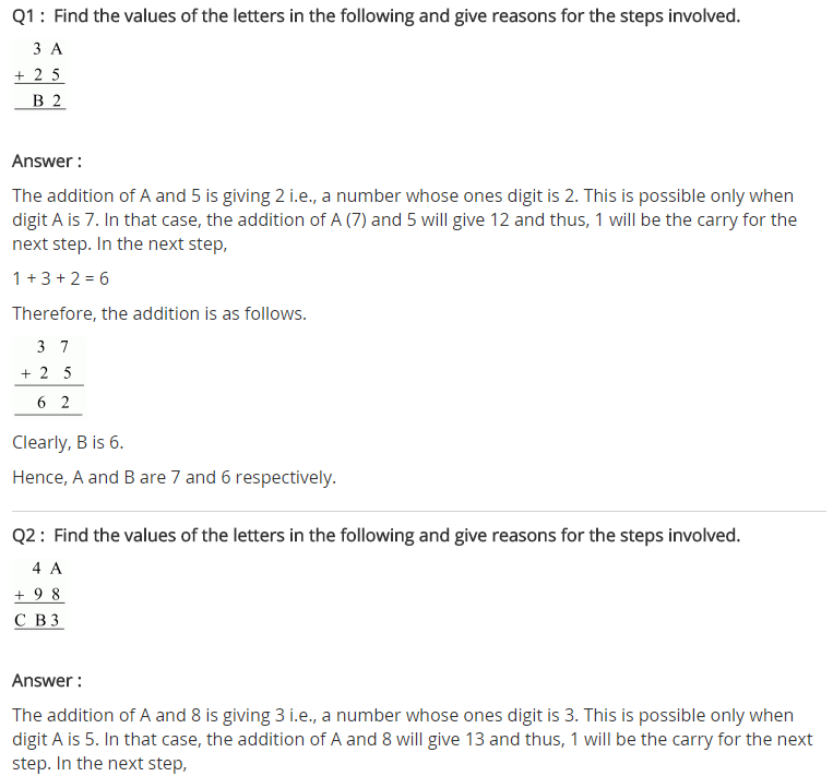 NCERT Solutions for Class 8 Maths Chapter 16 Playing with Numbers Ex 16.1 q-1