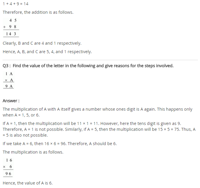 NCERT Solutions for Class 8 Maths Chapter 16 Playing with Numbers Ex 16.1 q-2
