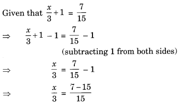 NCERT Solutions for Class 8 Maths Chapter 2 Linear Equations in One Variable Ex 2.1 Q12