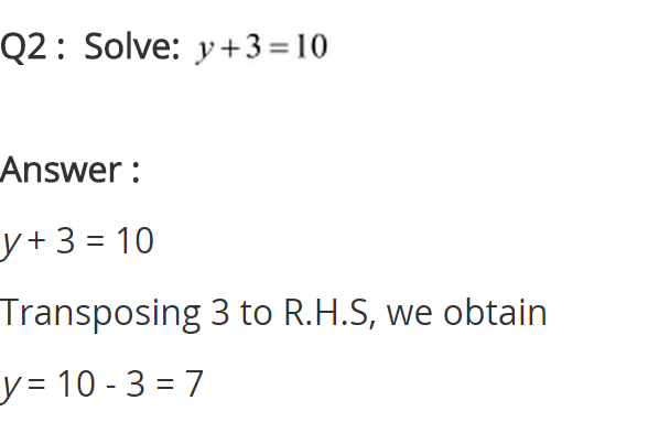 NCERT Solutions for Class 8 Maths Chapter 2 Linear Equations in One Variable Ex 2.1 q-2