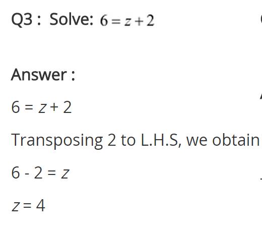 NCERT Solutions for Class 8 Maths Chapter 2 Linear Equations in One Variable Ex 2.1 q-3