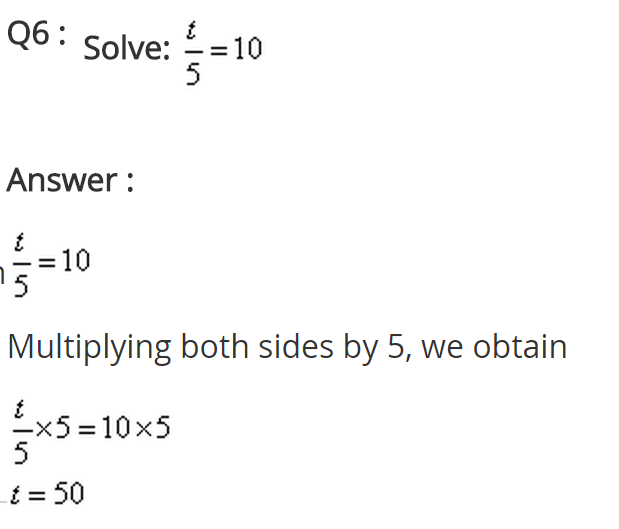 NCERT Solutions for Class 8 Maths Chapter 2 Linear Equations in One Variable Ex 2.1 q-6