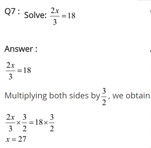 NCERT Solutions for Class 8 Maths Chapter 2 Linear Equations in One Variable Ex 2.1 q-7