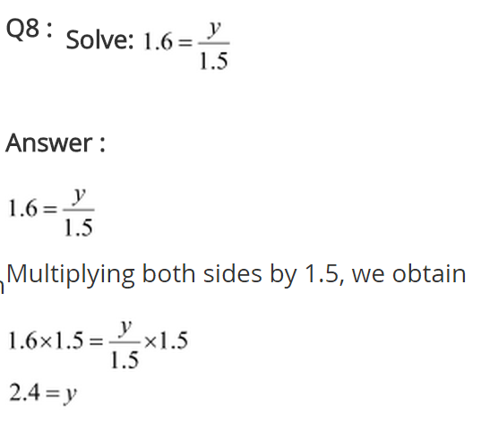 NCERT Solutions for Class 8 Maths Chapter 2 Linear Equations in One Variable Ex 2.1 q-8