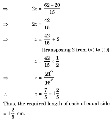 NCERT Solutions for Class 8 Maths Chapter 2 Linear Equations in One Variable Ex 2.2 Q3.1