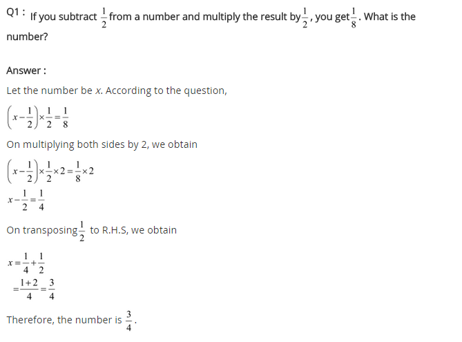 NCERT Solutions for Class 8 Maths Chapter 2 Linear Equations in One Variable Ex 2.2 q-1