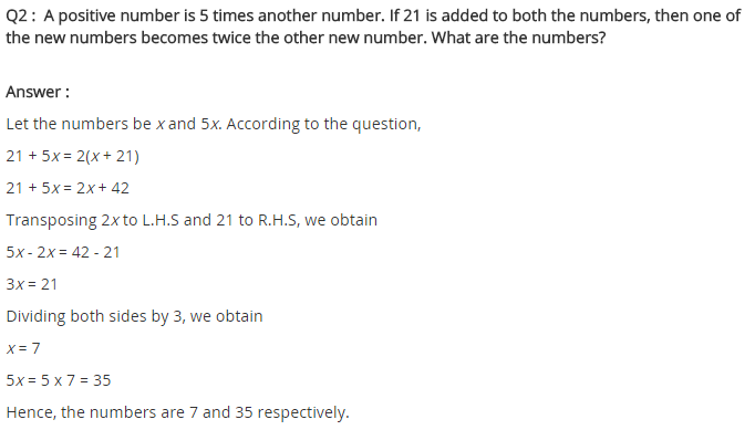 NCERT Solutions for Class 8 Maths Chapter 2 Linear Equations in One Variable Ex 2.4 q-2