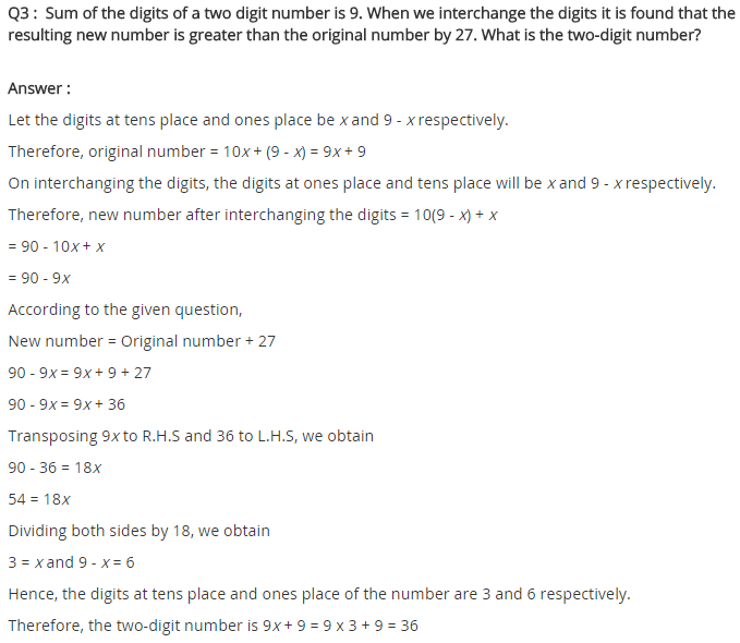 NCERT Solutions for Class 8 Maths Chapter 2 Linear Equations in One Variable Ex 2.4 q-3