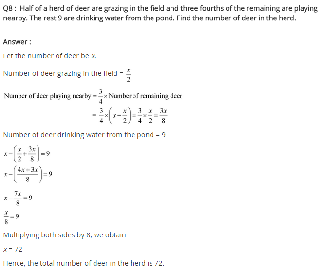 NCERT Solutions for Class 8 Maths Chapter 2 Linear Equations in One Variable Ex 2.4 q-8