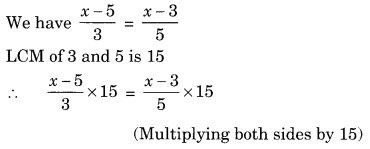 NCERT Solutions for Class 8 Maths Chapter 2 Linear Equations in One Variable Ex 2.5 Q4.1