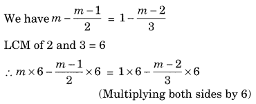 NCERT Solutions for Class 8 Maths Chapter 2 Linear Equations in One Variable Ex 2.5 Q6.1