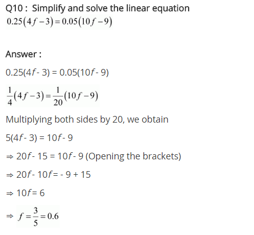 NCERT Solutions for Class 8 Maths Chapter 2 Linear Equations in One Variable Ex 2.5 q-10