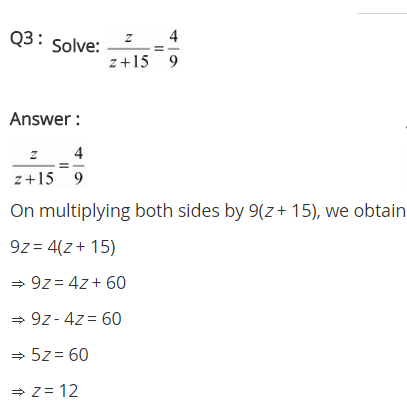 NCERT Solutions for Class 8 Maths Chapter 2 Linear Equations in One Variable Ex 2.6 q-3