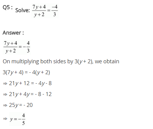 NCERT Solutions for Class 8 Maths Chapter 2 Linear Equations in One Variable Ex 2.6 q-5