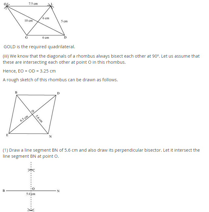 NCERT Solutions for Class 8 Maths Chapter 4 Practical Geometry Ex 4.2 A1.3