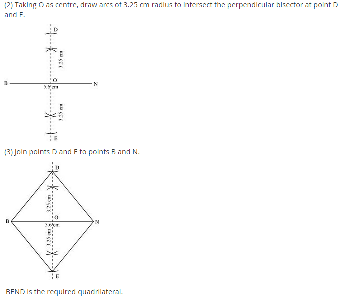 NCERT Solutions for Class 8 Maths Chapter 4 Practical Geometry Ex 4.2 A1.4