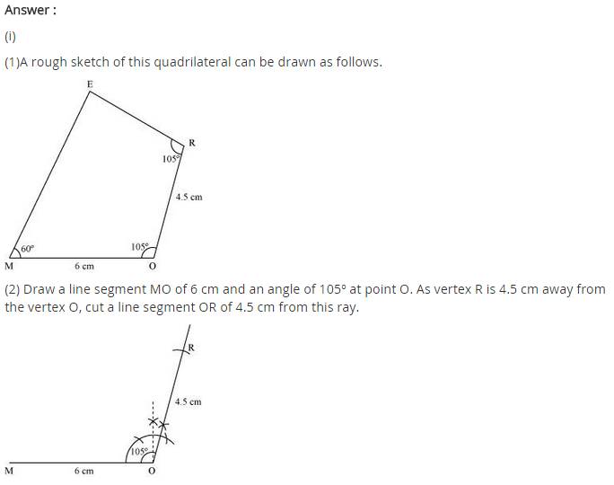 NCERT Solutions for Class 8 Maths Chapter 4 Practical Geometry Ex 4.3 A1.1