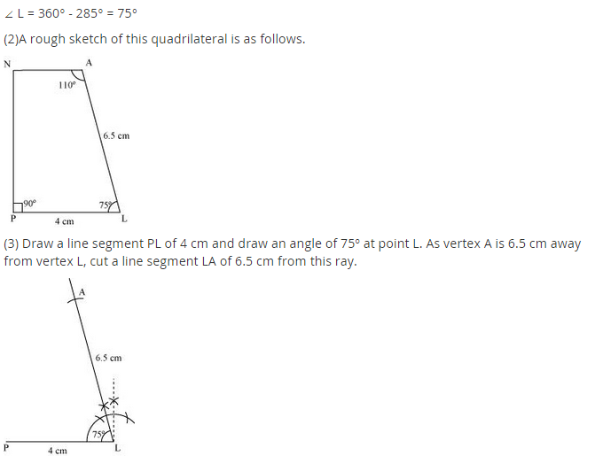 NCERT Solutions for Class 8 Maths Chapter 4 Practical Geometry Ex 4.3 A1.3