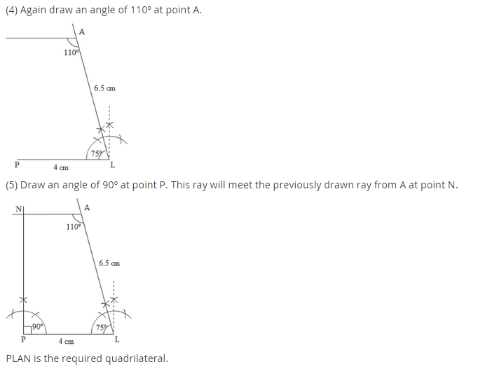 NCERT Solutions for Class 8 Maths Chapter 4 Practical Geometry Ex 4.3 A1.4