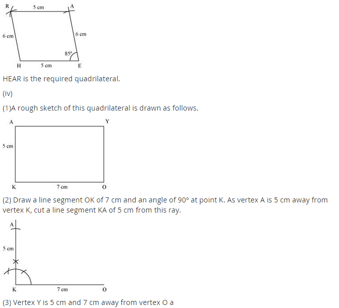NCERT Solutions for Class 8 Maths Chapter 4 Practical Geometry Ex 4.3 A1.6