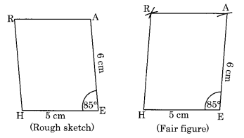 NCERT Solutions for Class 8 Maths Chapter 4 Practical Geometry Ex 4.3 Q1.2