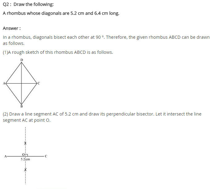 NCERT Solutions for Class 8 Maths Chapter 4 Practical Geometry Ex 4.5 A2
