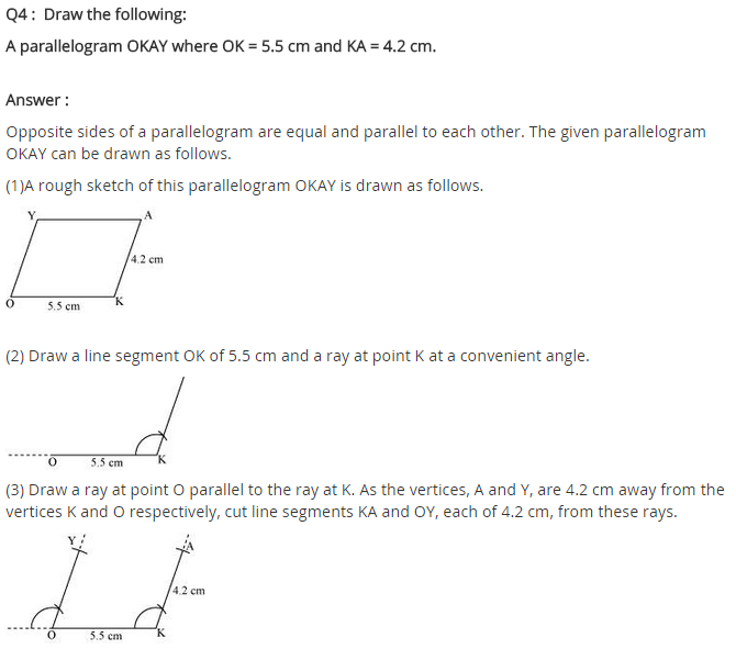 NCERT Solutions for Class 8 Maths Chapter 4 Practical Geometry Ex 4.5 A4