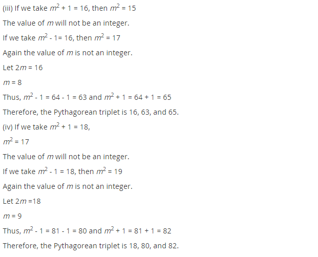 NCERT Solutions for Class 8 Maths Chapter 6 Squares and Square Roots Ex 6.2 Q2.1