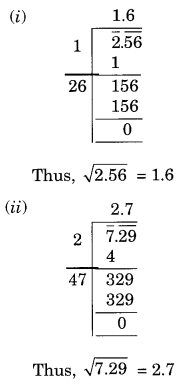 NCERT Solutions for Class 8 Maths Chapter 6 Squares and Square Roots Ex 6.4 Q3