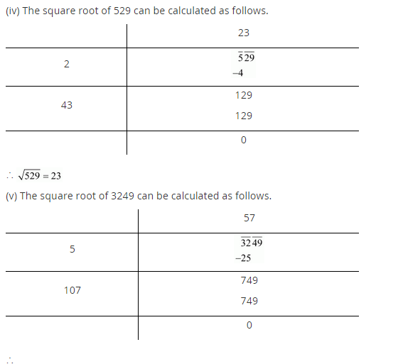 NCERT Solutions for Class 8 Maths Chapter 6 Squares and Square Roots Ex 6.4 q-1.2