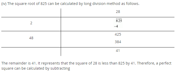 NCERT Solutions for Class 8 Maths Chapter 6 Squares and Square Roots Ex 6.4 q-4.2